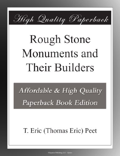 Rough Stone Monuments ...
