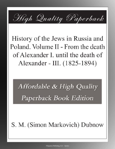 History of the Jews in...