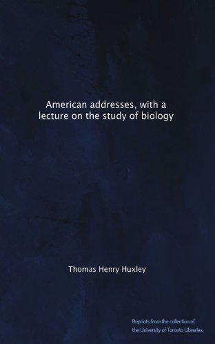 American Addresses, wi...