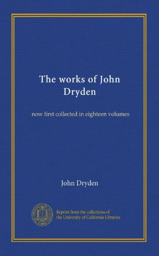 The works of John Dryd...