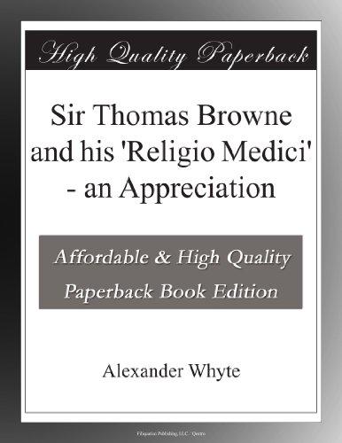 Sir Thomas Browne and ...