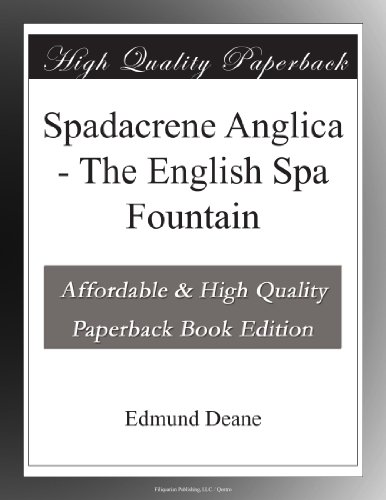Spadacrene Anglica: Th...