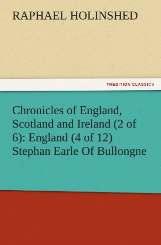 Chronicles of England,...