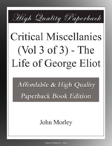 Critical Miscellanies ...