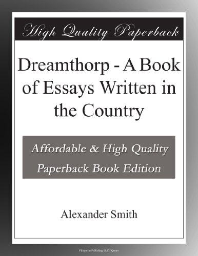Dreamthorp A Book of E...