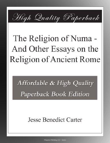 The Religion of Numa A...