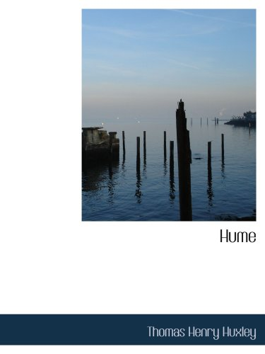 Hume (English Men of Letters Series)