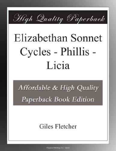 Elizabethan Sonnet Cyc...