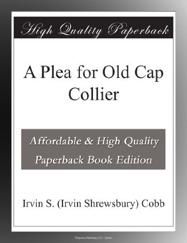 A Plea for Old Cap Col...