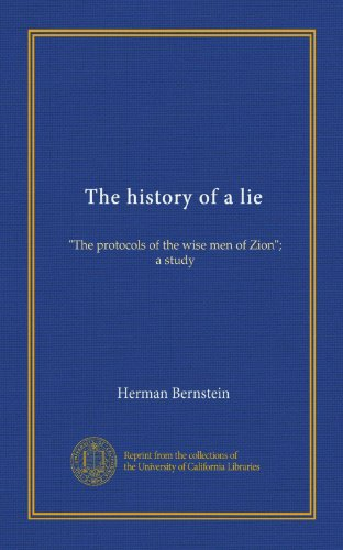 The History of a Lie '...