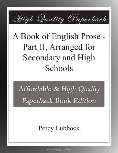 A Book of English Pros...