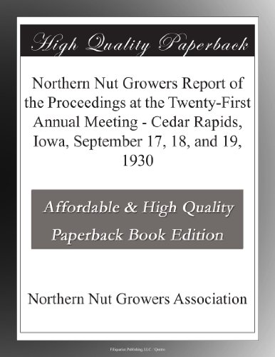 Northern Nut Growers R...