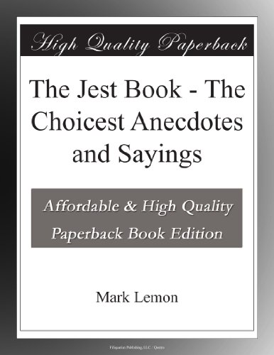The Jest Book The Choi...