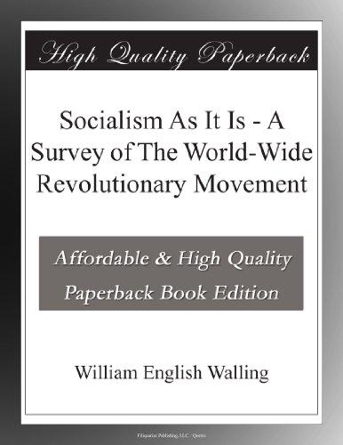 Socialism As It Is A S...