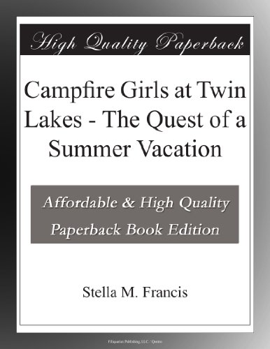 Campfire Girls at Twin...