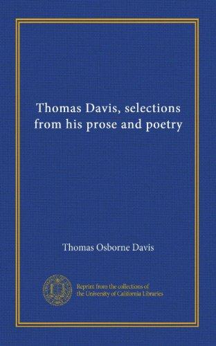 Thomas Davis, Selectio...