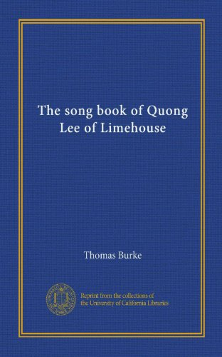 The Song Book of Quong...