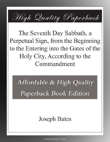 The Seventh Day Sabbat...