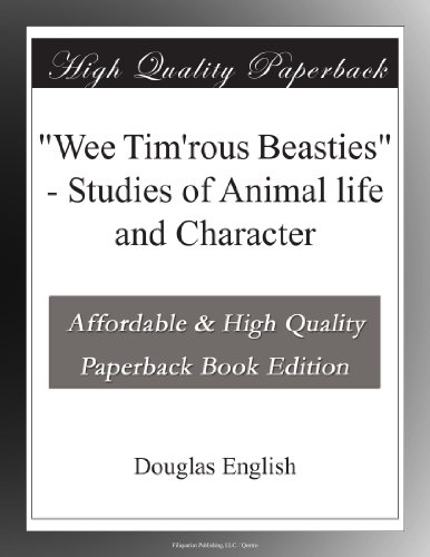 """""""Wee Tim'rous Beasties..."""