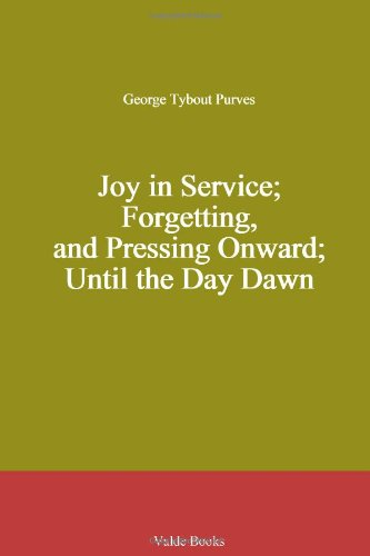 Joy in Service; Forget...