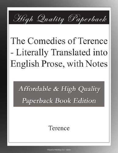 The Comedies of Terenc...