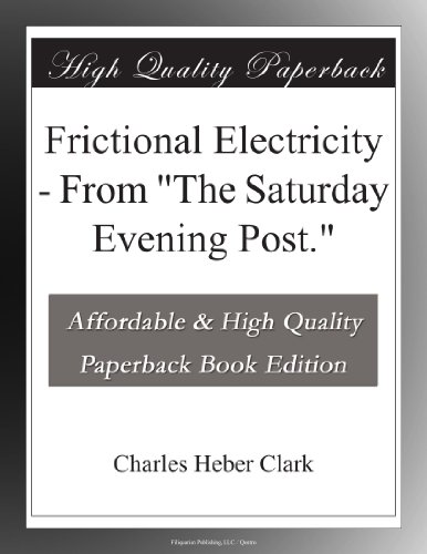 Frictional Electricity...