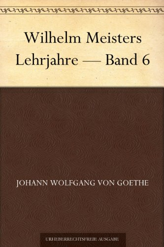 Wilhelm Meisters Lehrj...