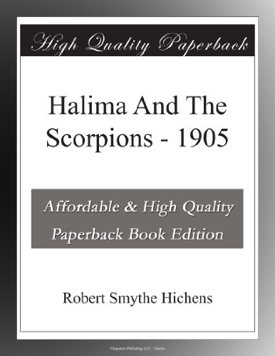 Halima And The Scorpions 1905