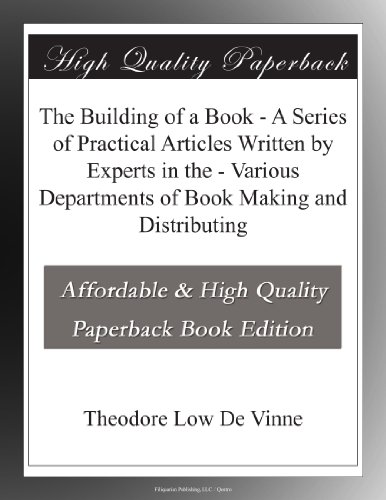 The Building of a Book...