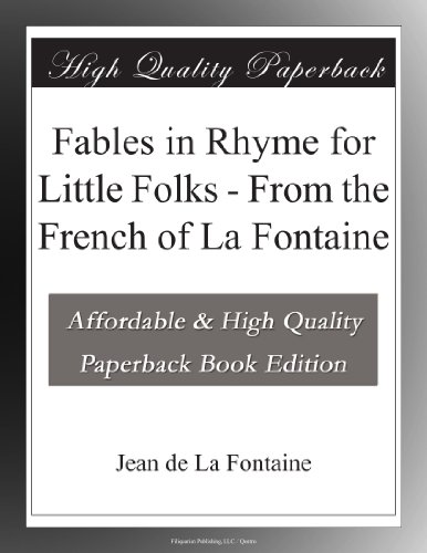 Fables in Rhyme for Li...