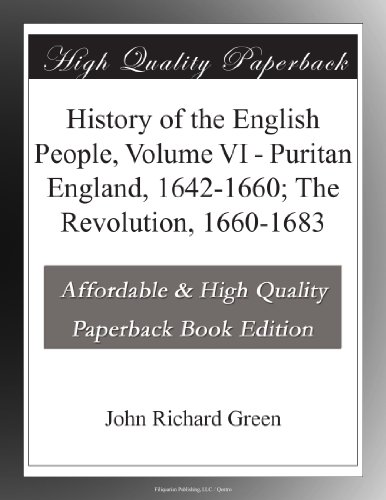History of the English...