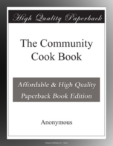 The Community Cook Book