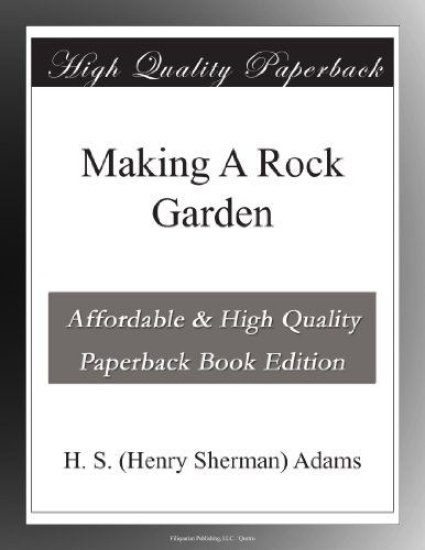 Making A Rock Garden