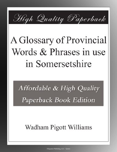 A Glossary of Provinci...