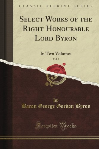 The Works of Lord Byro...