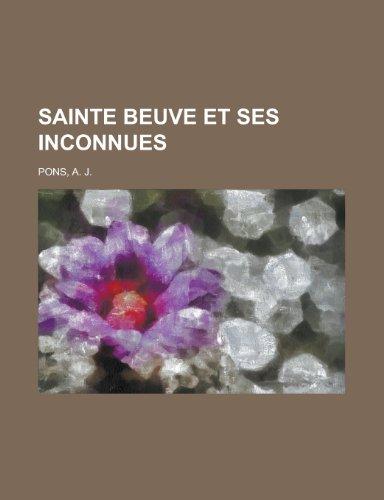 Sainte Beuve et ses in...