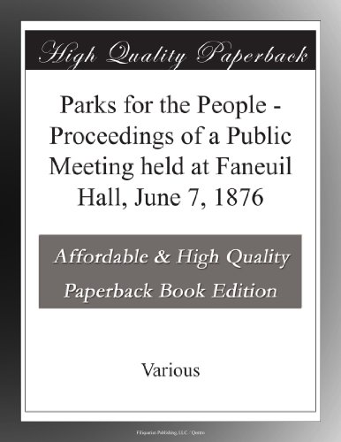 Parks for the People P...