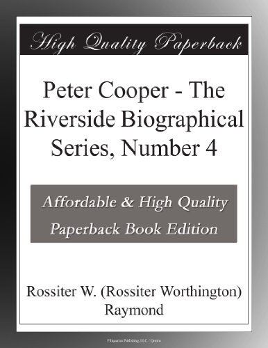 Peter Cooper The River...