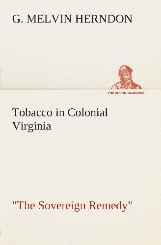 Tobacco in Colonial Vi...