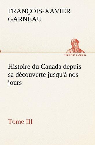 Histoire du Canada dep...