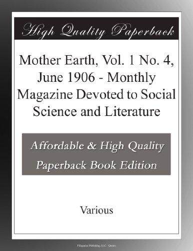 Mother Earth, Vol. 1 N...