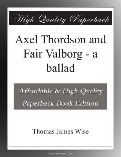 Axel Thordson and Fair...