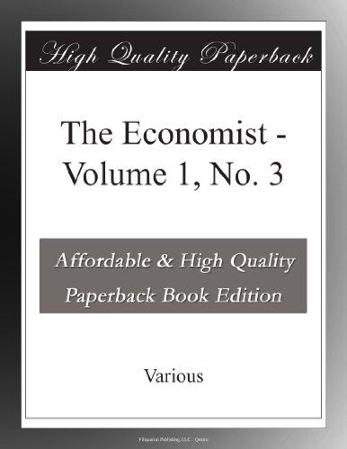 The Economist, Volume 1, No. 3