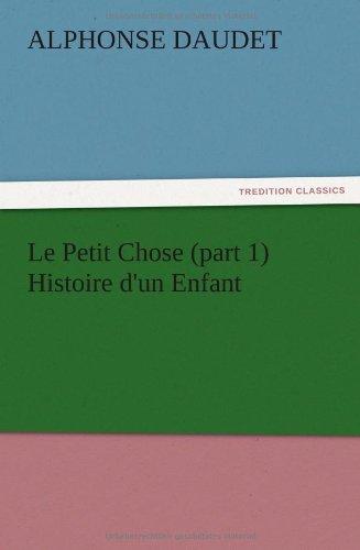 Le Petit Chose (part 1...