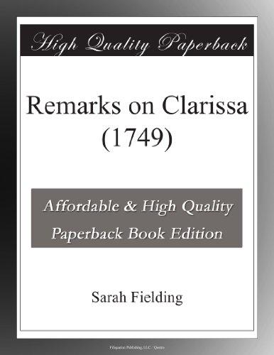 Remarks on Clarissa (1...