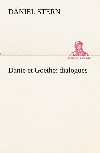 Dante et Goethe : dial...