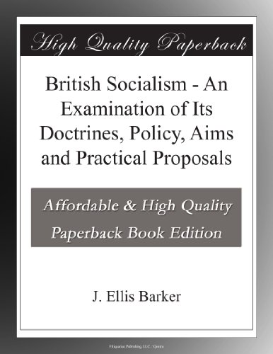 British Socialism An E...