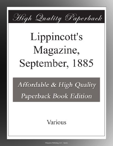 Lippincott's Magazine,...