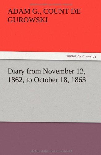 Diary from November 12...