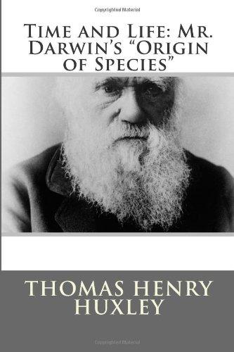 "Time and Life: Mr. Darwin's ""Origin of Species"""